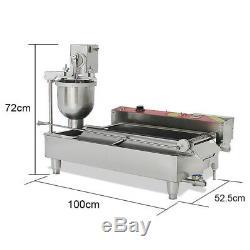 110/220v Donut Maker Making Machine Golden Donuts Mini Donuts Wider Oil Tank
