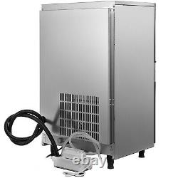 144Lbs Commercial Ice Maker Ice Cube Making Machine 65Kg /24Hrs Stainless Steel