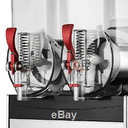 215L Commercial Frozen Drink Slush Slushy Make Machine Smoothie Maker