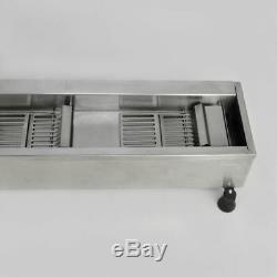 220V 3 Sets Mold Commercial Automatic Donut Maker Making Machine, Wide Oil Tank