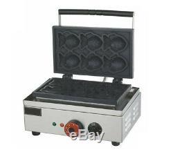 220V Electric taiyaki Maker Fryer Fish Type Waffle Making Machine EB-Q2