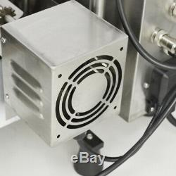 220V Wide Oil Tank Donut Maker Commercial Making Machine Automatic 3 Sets Mold