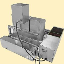 2600pcs/hour Commercial Mini 6 Rows Donuts Making Machine Doughnut Maker