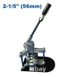 2-1/5 (56mm) Aluminum Round Badge Maker Machine for Making DIY Badge Buttons