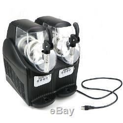 2 Tank Frozen Drink Slush Slushy Making Machine JTKX02 Juice Smoothie Maker 22L
