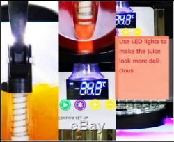 2 Tank Frozen Drink & Slush Slushy Making Machine Juice Smoothie Maker 220V m