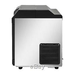 2 in 1 Commercial Ice Maker Ice Making Machine with Water Dispenser 78LBS per 24Hr