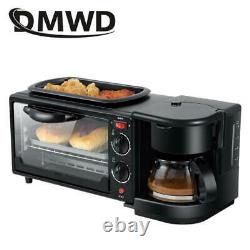 3 In 1 Best Breakfast Making Machine Mini Electric Pizza Bread Coffee Maker Oven