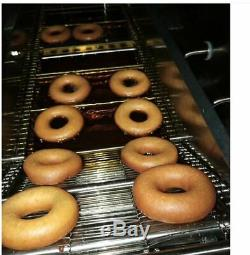 3 Sets Mold Commercial Automatic Donut Maker donut making machine Wider Oil Tank