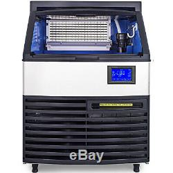 440Lbs Ice Maker Ice Cube Making Machine 200Kg /24H Commercial 99LBS Ice Storage