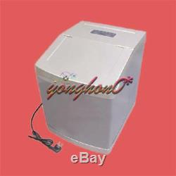 4L Auto Clear Cube Ice Making Machine Commercial Ice Maker 25kg/24h 220V