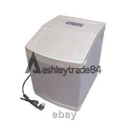 4L Commercial Ice Maker Auto Clear Cube Ice Making Machine 220V 25kg/24h