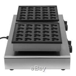 50pcs Electric Waffle Making Machine Poffertjes Dutch Pancake Maker Baker