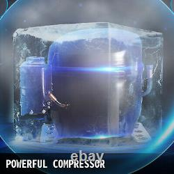 99LBS Commercial Ice Maker Ice Cube Making Machine 45KG Reservation Function SUS