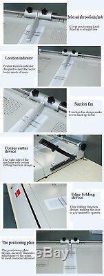 A3 Size Hard Cover Case Maker Desktop Hardback Photo Album Menus Making Machine
