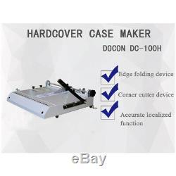 A4 Hard Cover Case Maker Desktop Hardback Hardbound Photo Albums Making Machine
