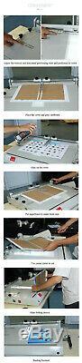 A4 Hard Cover Case Maker Machine Hardback Hardbound Photo Albums Making USA New