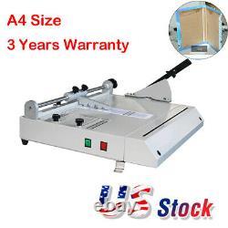 A4 Size Hard Cover Case Maker Hardback Hardbound Making Machine USA