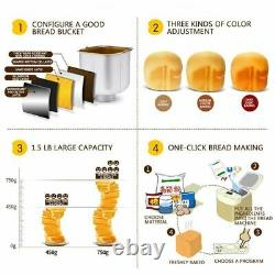 Automatic Bread Maker Multi-Function Dough Kneading Yogurt Cake Making Machine