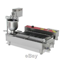 Automatic Commercial Donut Fryer Maker Making Machine Donut Robot 110V/220V FDA