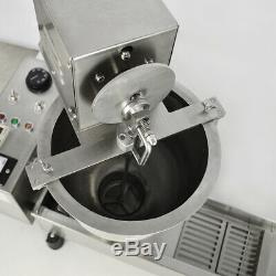 Automatic Donut Maker 3 Size 220V Commercial Doughnut Making Machine Shape Fryer