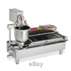 Brand New Automatic Commercial Donut Fryer maker Making Machine Donut Robot 6KW