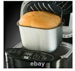 Bread Maker Bread Making Machine 3 Loaf Sizes Gluten Free Recipes 12 Programme
