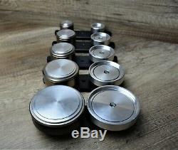 Button Badge Maker Making Machine 1000 Badges, circle cutter & choice of die