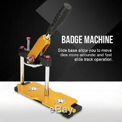 Button Maker Punch Press Machine Badge Button Maker Machine Button Emblem Making