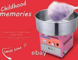 CE Electric Commercial Candy Floss Making Machine Cotton Sugar Maker 220V