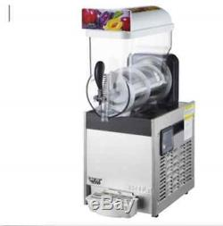 Commercial 1 Tank Frozen Drink Slush Slushy Making Machine Smoothie Maker