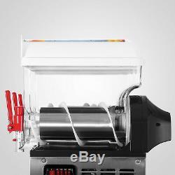 Commercial 3Tank Frozen Drink Slush Making Machine Smoothie Maker 110v Hot