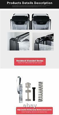 Commercial 3x10L ice slush machine ice slushie making machine frozen drink maker