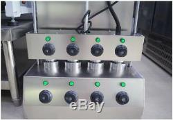 Commercial Electric Pizza Cone Maker Forming Making Machine Stainless Steel NEW