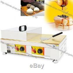 Commercial Nonstick Electric Dorayaki Baker Pancake Maker Souffle Making Machine