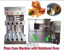 Commercial Pizza Cone Forming Making Machine Maker With Rotational Pizza Oven io