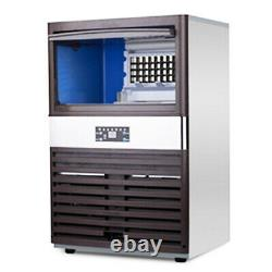 Commercial Rapid Ice Making Machine Ice Maker 110V 60HZ 430W High Efficient New