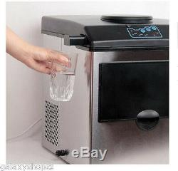 Commercial ice cube maker machine Bullet round ice block making factory machine