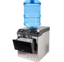 Commercial ice cube maker machine Bullet round ice ice block making factory T