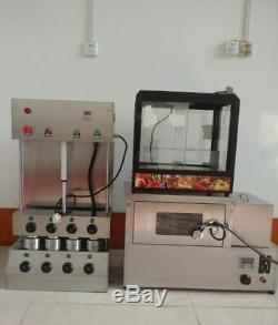 Commercial pizza cone maker making machine pizza cone baker forming machine
