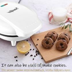 Donut Machine Maker Electric Doughnut Making Nonstick Double Sided Mold Baker