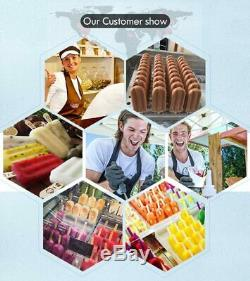 Double mold sets ice Popsicle Making Machine, ice Lolly Machine, ice pop Maker