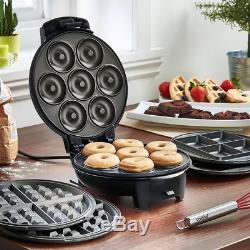 Doughnut Maker Mini Waffle Making Kitchen Machine Cooking Non Stick Donut Plates