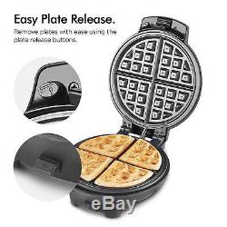 Doughnut Maker Waffle Making Machine Brownie Cooking Kitchen Non Stick Plates