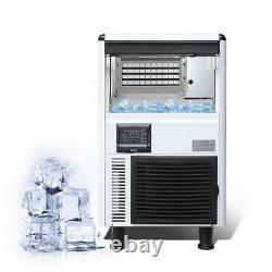 ETL Commercial cube ice machine, ice cube making machine, milktea shop ice maker