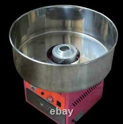Electric Commercial Candy Floss Making Machine Cotton Sugar Maker 220V US