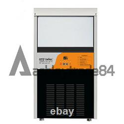 Electric Commercial Ice Making Machine Milk Tea Ice Maker 220V Output 60KG New