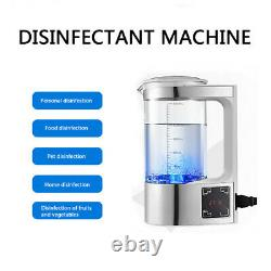 Electric Hypochlorous Acid Water Making Machine Bottle Disinfection Spray Maker
