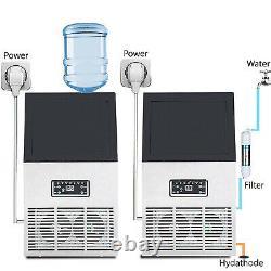 Electric Ice Maker 60 KG per 24H Automatic Ice Making Machine 110V