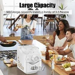 Electric Pasta Maker, Pasta Machines with 9+3 Molds to Choose, Make 1 Pound of